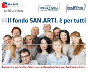 Fondo Sanarti,  campagna associativa avviata