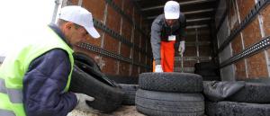 Contro il flusso di pneumatici irregolari