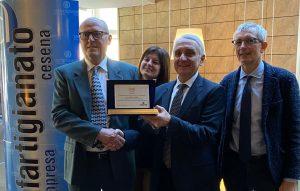 Cinquant'anni di impresa, premiato Ubaldo Gardelli