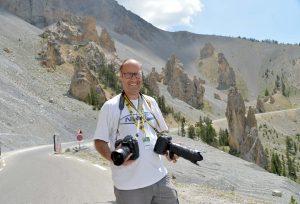 """""""Il mio libro sui 30 anni da fotoreporter al Tour de France"""""""